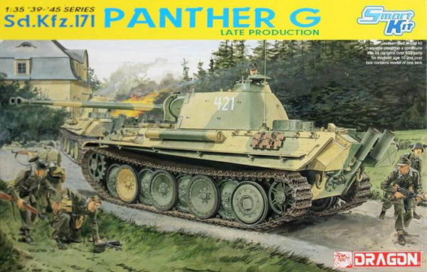 Модель 1:35 Sd.Kfz.171 Panther G Late Production
