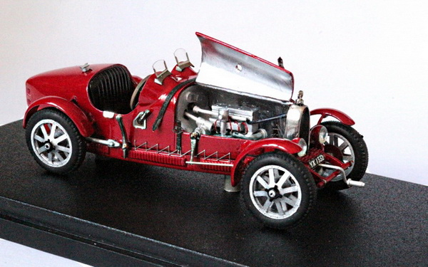 Модель 1:43 Bugatti T37A Ch.№37298 - red - built by Ateliers Christian GOUEL (L.E.30pcs)