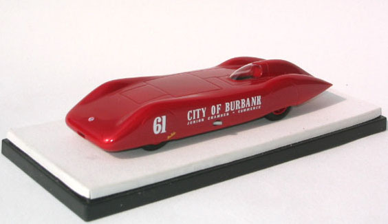 Модель 1:43 Hill-Davis «City of Burbank» Bonneville