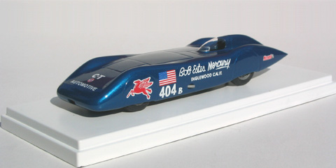 Модель 1:43 Hill-Davis «City of Burbank» Bob Estes Bonneville SCTA Speed Trials