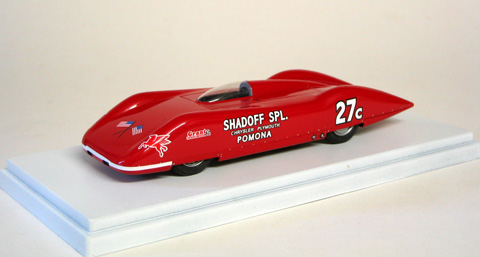 Модель 1:43 SHADOFF SPECIAL Bonneville SCTA Speed Trials