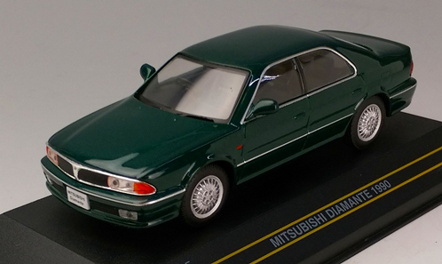 Модель 1:43 Mitsubishi Diamante - dark green RHD, 1990