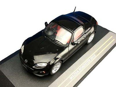 Модель 1:43 Mazda MX-5 Roadster - black RHD 2013