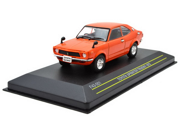 Модель 1:43 Toyota Sprinter Trueno - orange