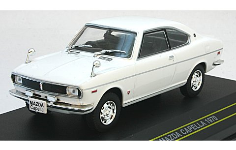 Модель 1:43 Mazda CAPELLA COUPE - White