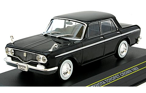 Модель 1:43 TOYOTA TOYOPET CROWN 1962 - Black