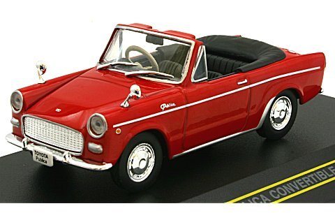 Модель 1:43 Toyota Publica Convertible OPEN - red