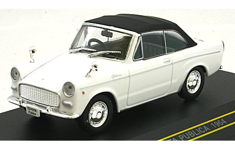 Модель 1:43 Toyota Publica Convertible CLOSED - white
