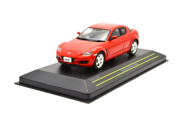 Модель 1:43 Mazda RX8 COUPE - red