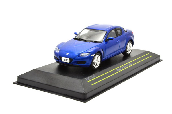 Модель 1:43 Mazda RX8 COUPE - blue