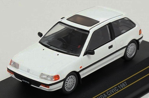 Модель 1:43 HONDA CIVIC 1987 - White