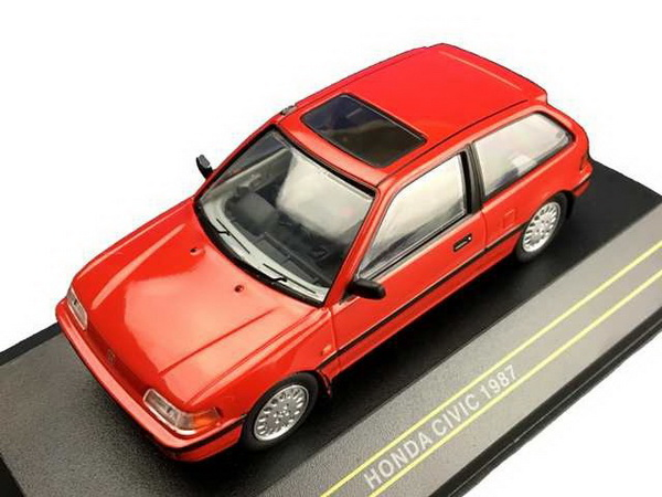 Модель 1:43 HONDA CIVIC 1987 - Red