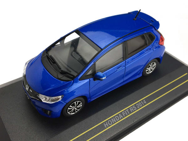 Модель 1:43 HONDA FIT RS 2014 - Blue