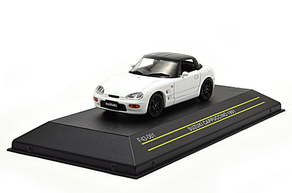 Модель 1:43 Suzuki Cappuccino Cabrio Closed - white