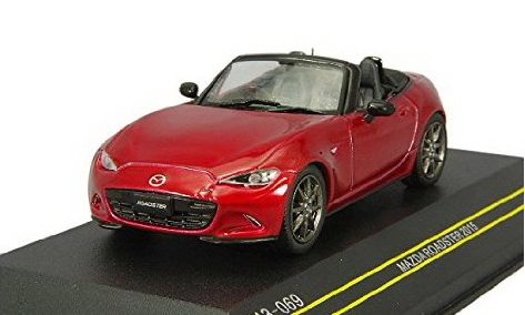 Модель 1:43 Mazda MX-5 Roadster - Red RHD 2015