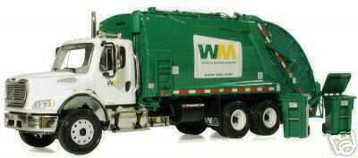 Модель 1:34 Freightliner M2 Rear Load Refuse-Waste Mgmt