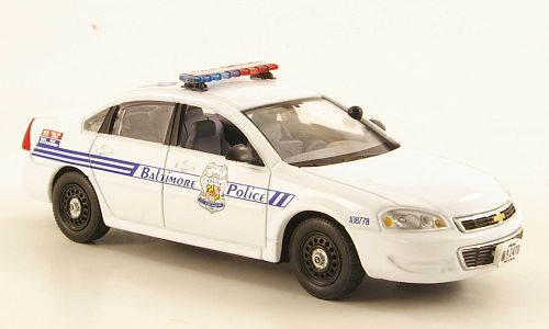 Модель 1:43 Chevrolet Impala - Baltimore Maryland Police