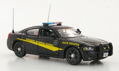 Модель 1:43 Dodge Charger - Wyoming Highway Patrol - State Trooper