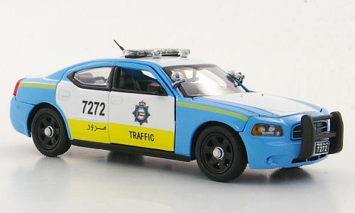 Модель 1:43 Dodge Charger - Kuwait Traffic Patrol (KWT)