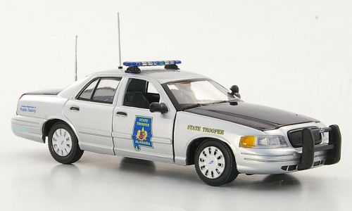Модель 1:43 Ford Crown Victoria - Alabama Highway Patrol - State Trooper