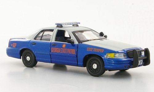 Модель 1:43 Ford Crown Victoria - Georgia State Patrol - State Trooper