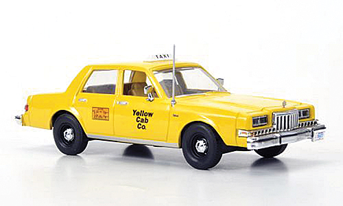 Модель 1:43 Dodge Diplomat Taxi «Yellow Cab Co.»