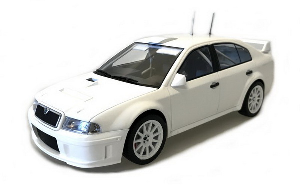 Модель 1:18 Skoda Octavia WRC Evo2 Plain Body version