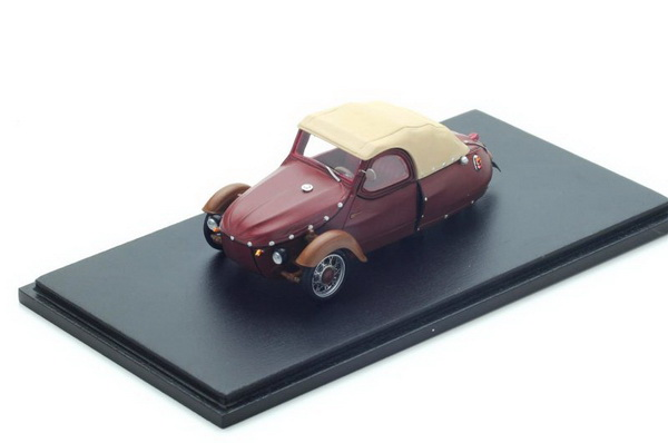 Модель 1:43 Velorex 350/16 1963 - dark red/beige