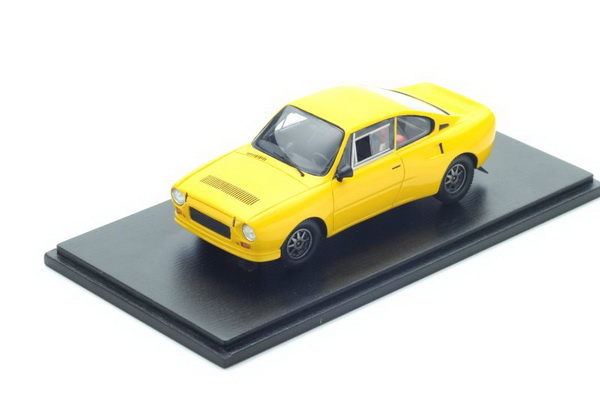 Модель 1:43 Škoda 130 RS Plain body version - Yellow