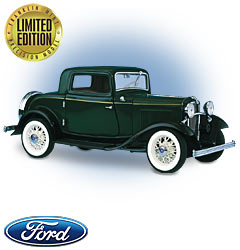 Модель 1:24 Ford V-8 Deuce Coupe / green