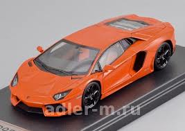 Модель 1:43 Lamborghini Aventador LP 700-4 - orange red