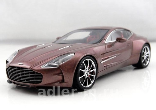 Модель 1:43 Aston Martin One 77 - magma red