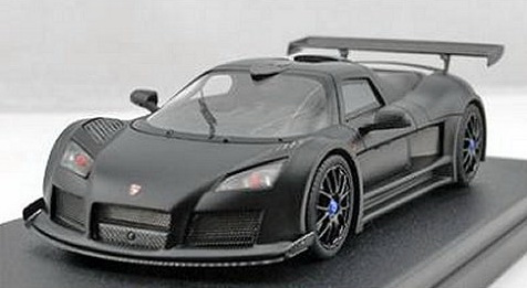 Модель 1:43 Gumpert Apollo S - matt black (L.E.50pcs)