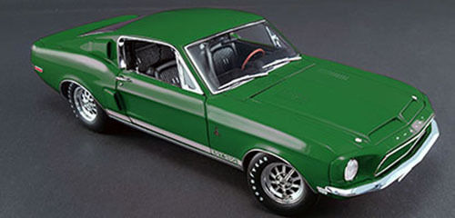 Модель 1:18 Ford Shelby Mustang GT350 Special Color WT 7081 1968