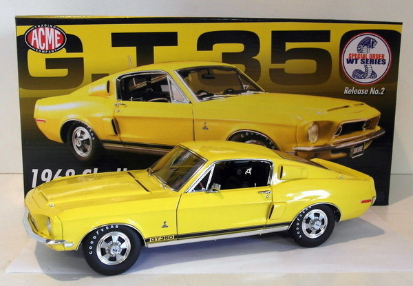 Модель 1:18 Shelby GT350 - special color WT 6066