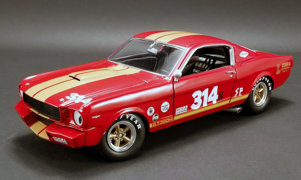Модель 1:18 Shelby GT350H №314 - Rent A Racer - red/gold