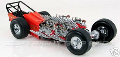 Модель 1:18 Tommy Ivo Four Engine Dragster