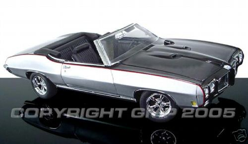 Модель 1:18 Pontiac GTO Convertible Restomod by