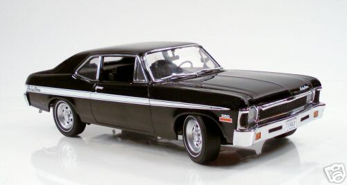 Модель 1:18 Chevrolet Rally Nova - black