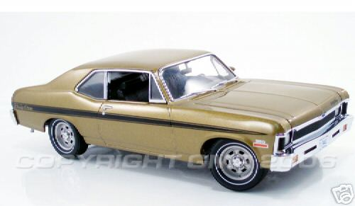 Модель 1:18 Chevrolet Rally Nova - gold