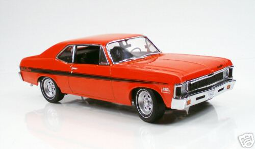 Модель 1:18 Chevrolet Rally Nova - orange