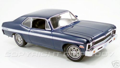 Модель 1:18 Chevrolet Rally Nova - blue
