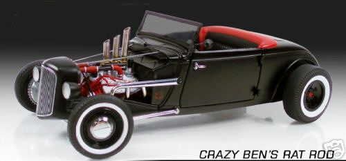 Модель 1:18 Crazy Ben~s Rat Rod