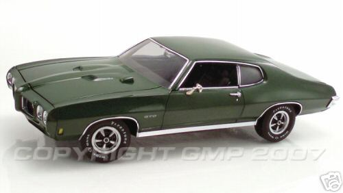 Модель 1:24 Pontiac GTO - pepper green