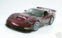 Модель 1:12 Chevrolet Corvette C5R Prototype Ruby Red Metallic