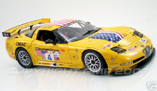 Модель 1:12 Pratt - Miller №4 C5R Corvette `United WE STAND`