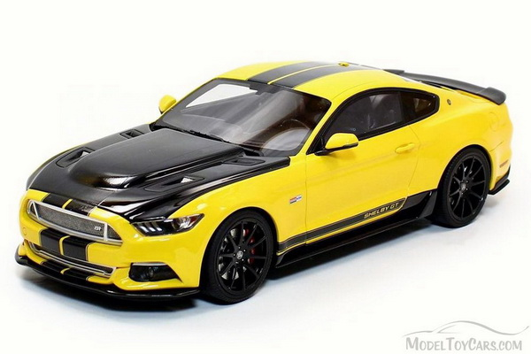 Модель 1:18 Ford Shelby GT - Yellow and Black