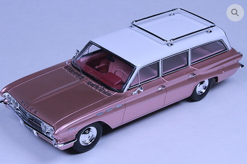 Модель 1:43 BUICK Special Station Wagon Camelot Rose 1962