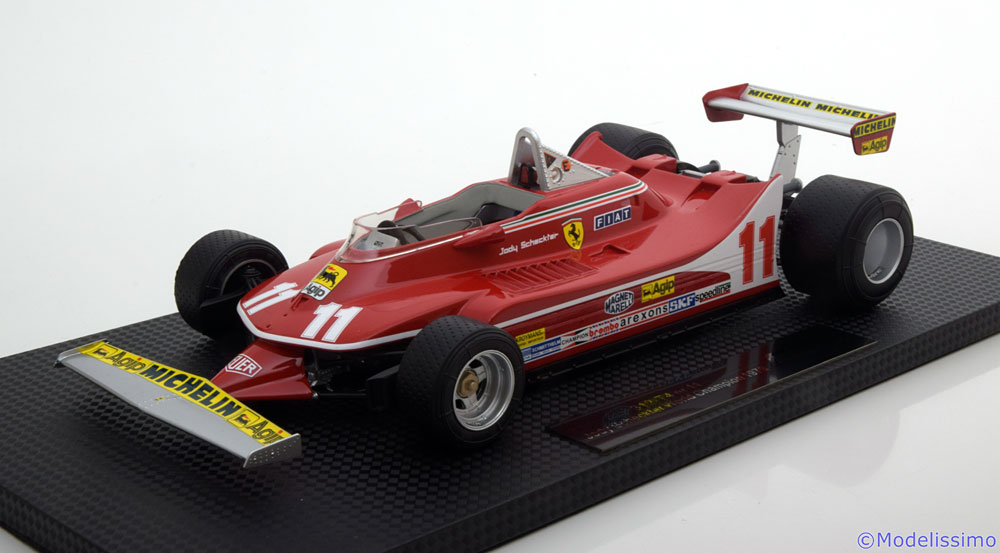 Модель 1:18 Ferrari 312 T4 №11 World Champion (Jody David Scheckter)