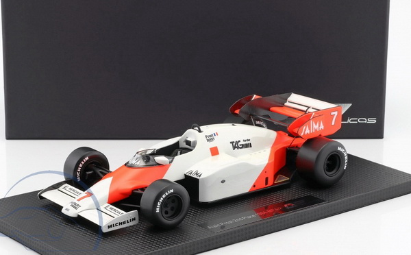 Модель 1:18 Mclaren MP4/2 TAG №7 2nd Plce (Alain Prost)